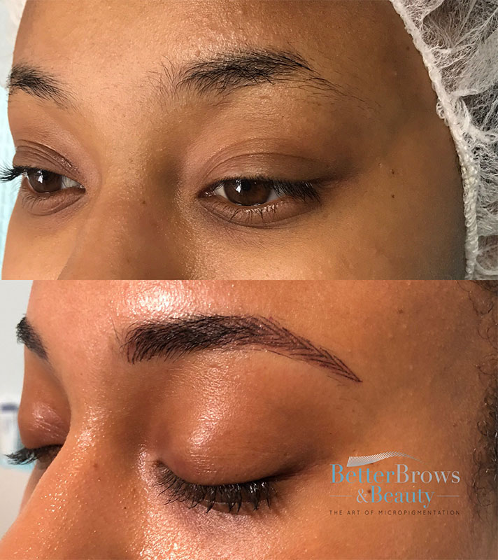 nikki brows 1 5 Things I Learned After Refreshing My Microbladed Eyebrows