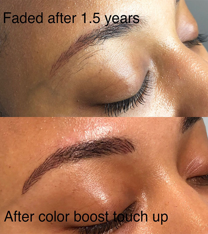 nikki brows 2 5 Things I Learned After Refreshing My Microbladed Eyebrows
