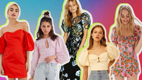 Puff-Sleeve Pieces to Shop, Because Nothing Says Spring Like Puffy Sleeves   StyleCaster