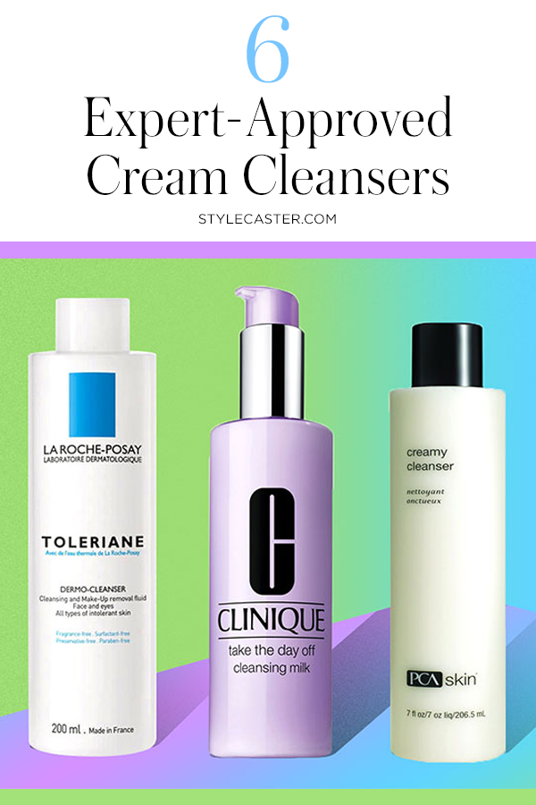 STYLECASTER | 6 Expert-Recommended Cream Cleansers That'll Let Your Summer Skin Breathe | Pin it!