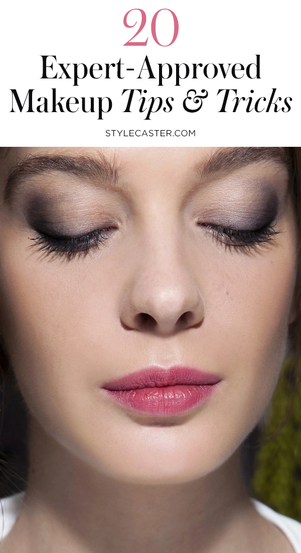 STYLECASTER | Makeup Tricks Everyone Should Know | Pin it!