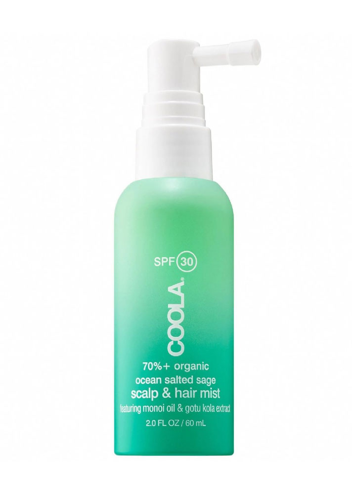 STYLECASTER | Scalp Sunscreens | COOLA Organic Scalp & Hair Mist SPF 30