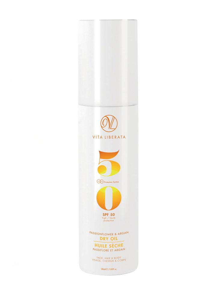 STYLECASTER | Scalp Sunscreens | Vita Liberata Oil