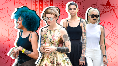 The Most Popular Tattoo Trends of 2018 | StyleCaster