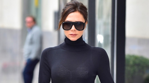 Victoria Beckham's Wild Pattern Mixing Is Honestly Out of this World | StyleCaster