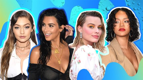 Wet Hairstyles to Copy, Because It's Too Hot for Anything Else | StyleCaster