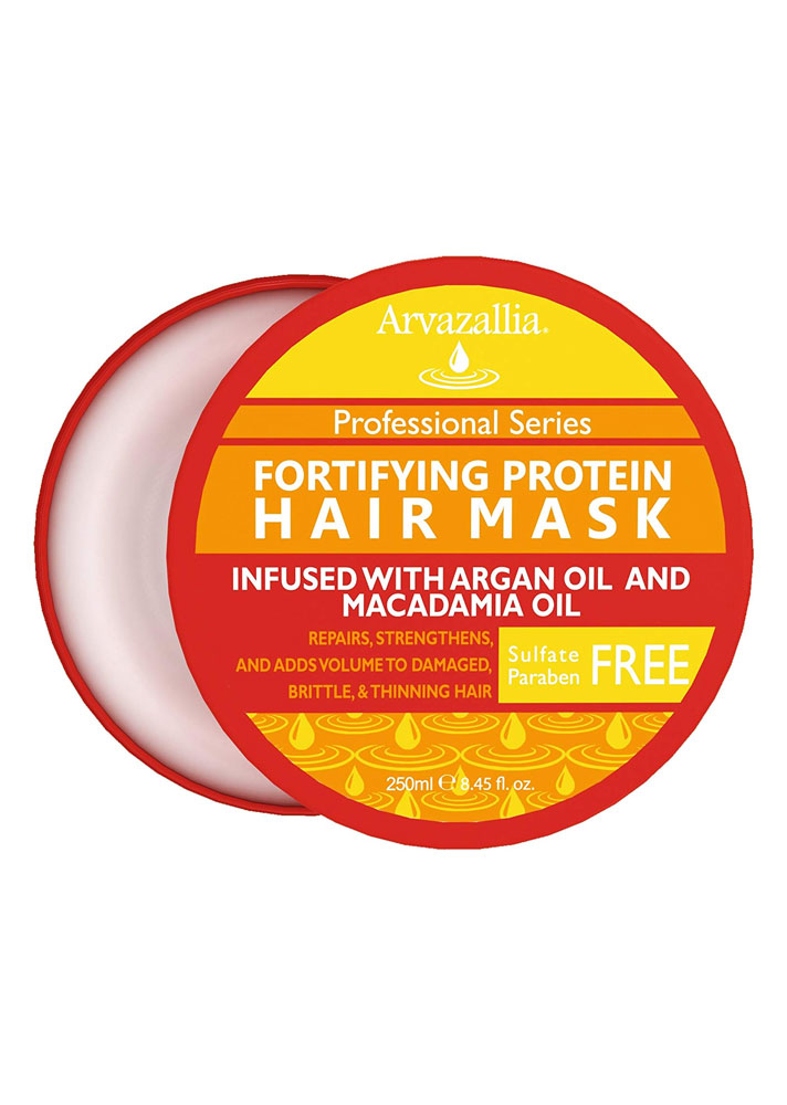 STYLECASTER | Products for Thinning Hair | Arvazallia Fortifying Protein Hair Mask