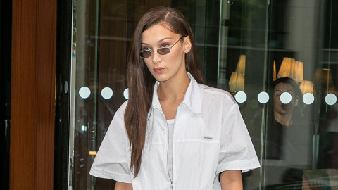 Bella Hadid Wore a Fendi Skirt That's Equal Parts Hawt and Confusing | StyleCaster