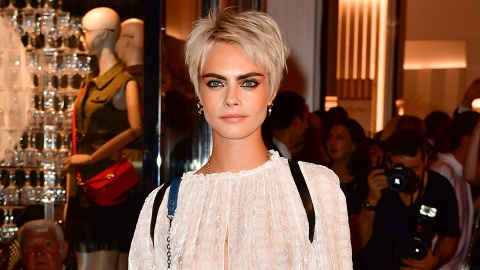 We Love Cara Delevingne's Hair-Styling Hack for That Awkward Growing-Out Stage | StyleCaster
