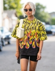 How to Wear Bike Shorts—the Celebrity Way
