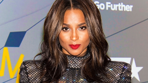 Ciara Strutting NYC Streets in a Metallic Gown Is Everything | StyleCaster