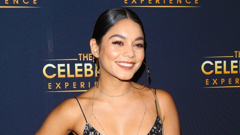 Vanessa Hudgens Wore a Pearl Necklace and Fur Coat Over Her Bikini Just Because | StyleCaster