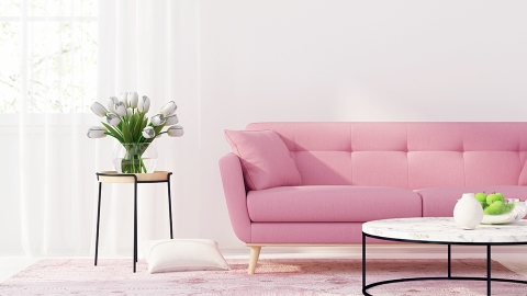 Simple Blush Accents Will Render Your Home a Pretty in Pink Paradise | StyleCaster