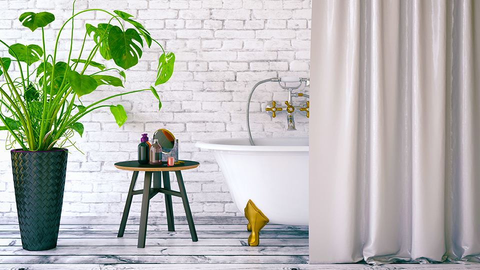 How to Give Your Bathroom a Luxe Makeover—on a Budget