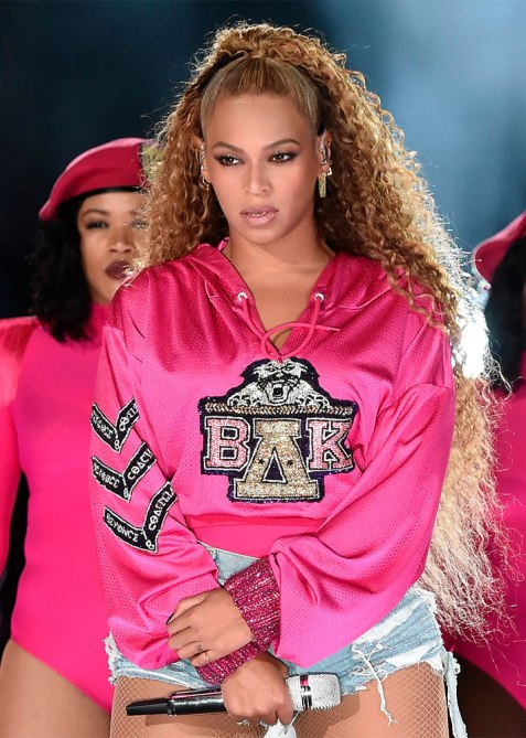 half up half down beyonce 1 Trend Alert: Celebs Cant Stop Wearing the Half Up, Half Down Hairstyle