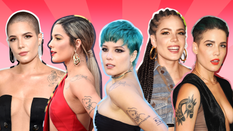 Halsey's Mind-Blowing—and Colorful—Beauty Evolution | StyleCaster