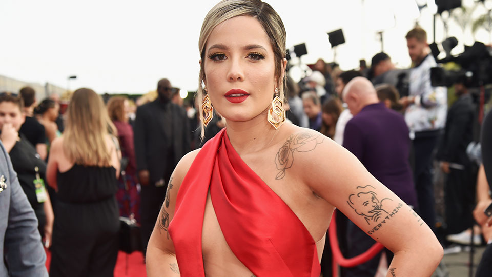 Halsey's Been Hiding Her Hair Growth Under Wigs for a Year