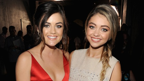 Sarah Hyland Called Out a Site That Mistook Her for Lucy Hale | StyleCaster