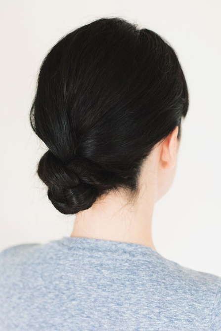 messy bun 10 How to Style a Messy Bun That Still Looks Put Together On Your Laziest Day