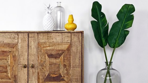 A Single Palm Leaf Is the Decor Piece Your Home Is Missing   StyleCaster