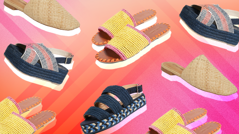 11 Pairs of Rattan Shoes We Want to Slip Into, ASAP | StyleCaster