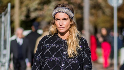 The Street Style Guide to Wearing a Headband (Without Looking Totally Juvenile) | StyleCaster