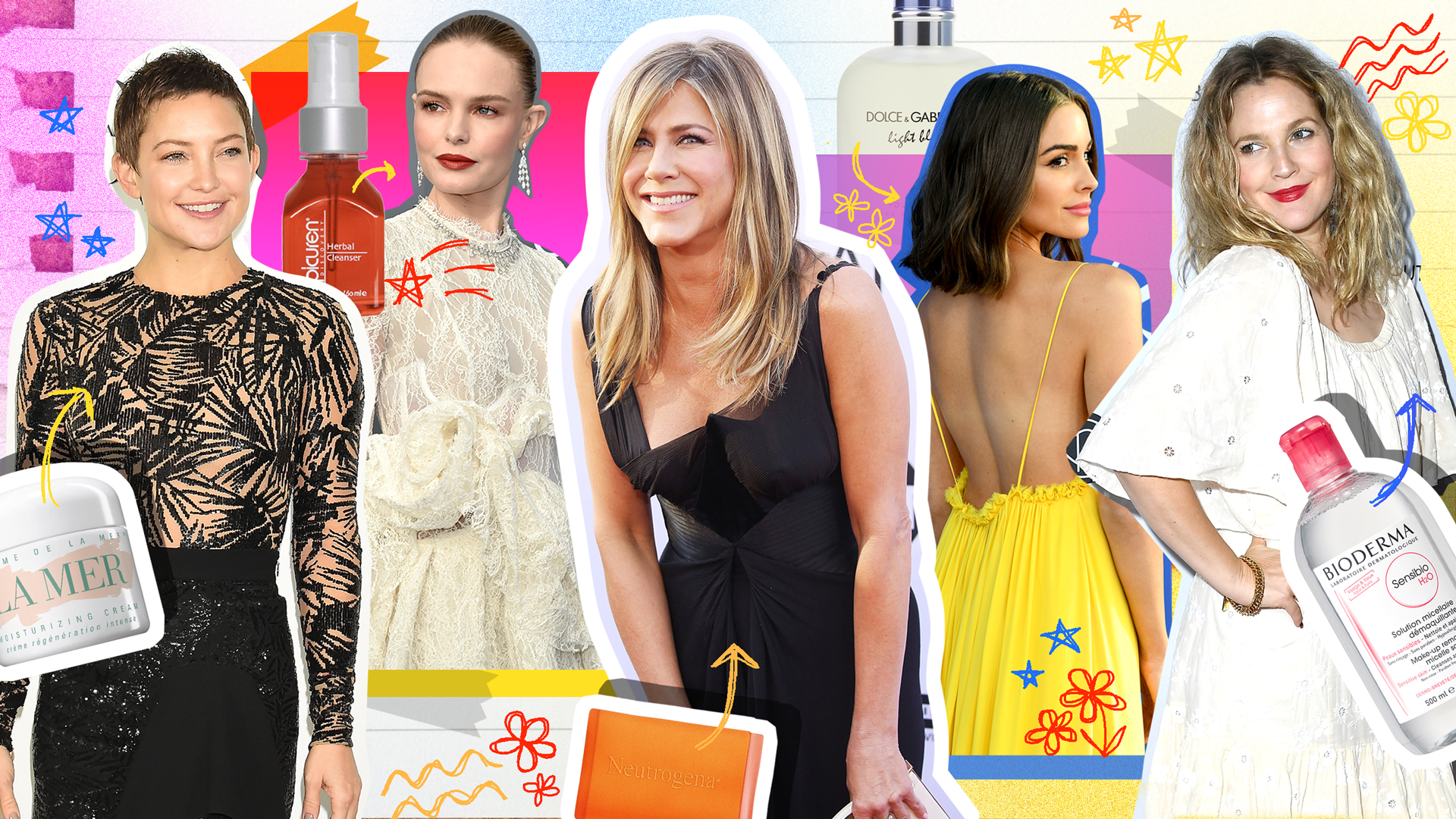 Beauty Products Celebs Have Used Since Teens