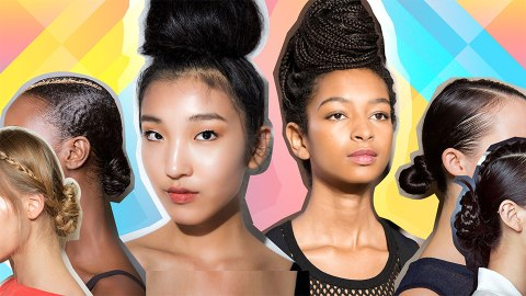 18 Runway-Approved Updo Styles for When You're Feelin' Fancy | StyleCaster