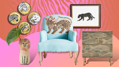 Animal Decor Is the Delightful Home Trend No One Asked For | StyleCaster
