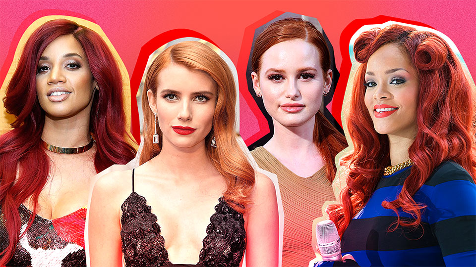 50 Celebrity Hairstyles That'll Make You Want Red Hair