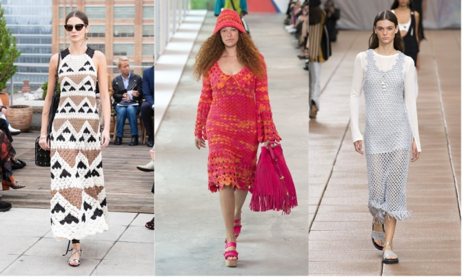 crochet The Top 10 Trends from New York Fashion Week 2018