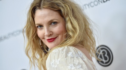 Drew Barrymore's White Blazer Look Is an Unexpected Twist on a Fall Trend | StyleCaster