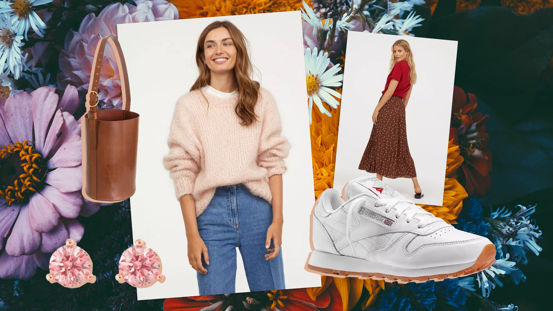 How to Wear Pastels in Fall