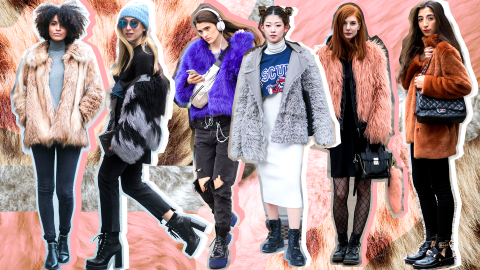 17 Faux Fur Jackets That Aren't Too Over the Top to Wear Daily | StyleCaster