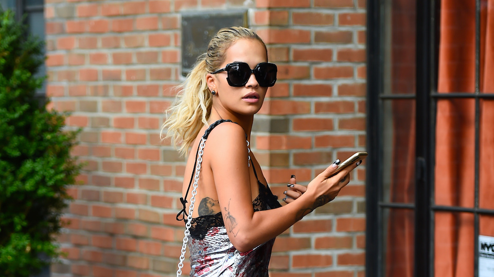 Rita Ora's Latest Ensemble Inspires More Questions Than Answers
