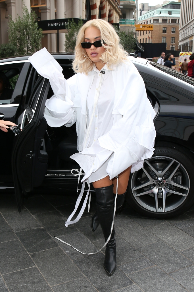gettyimages 1026613184 Rita Oras Latest Ensemble Inspires More Questions Than Answers