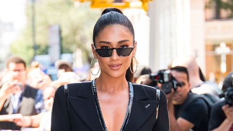 Shay Mitchell's Instagram Story Is Full of Stunning Home Office Inspiration | StyleCaster