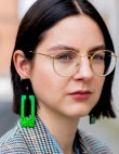 The Appropriate Earrings for Every Fall Neckline
