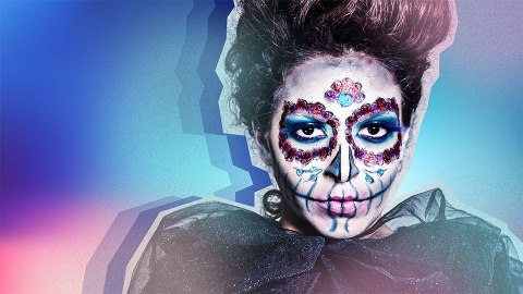 75 Pretty Halloween Makeup Ideas—Minimal Costume Required | StyleCaster