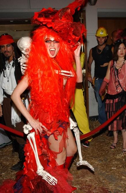 Heidi Klum Halloween Costume 2004