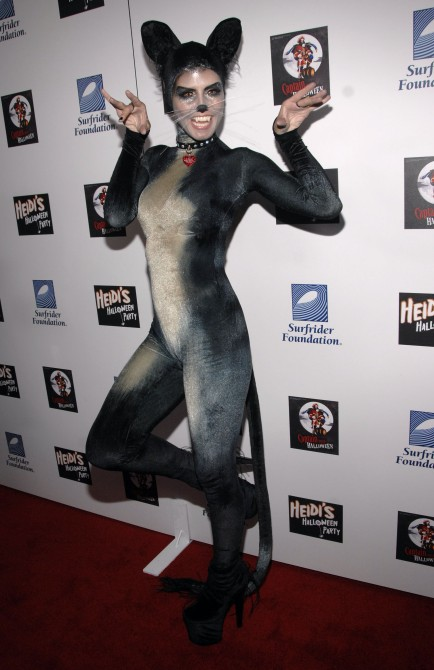 Heidi Klum Halloween Costume 2007