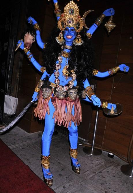 Heidi Klum Halloween Costume 2008