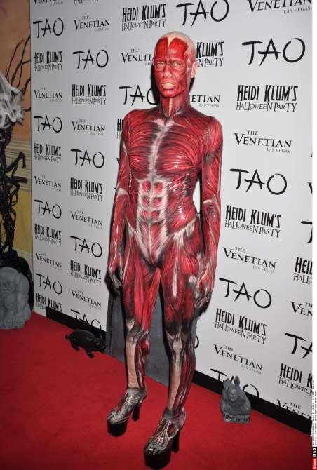 Heidi Klum Halloween Costume 2011
