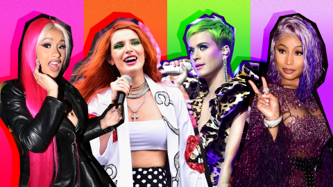 20 Times Celebrities Have Rocked Neon-Colored Hair | StyleCaster