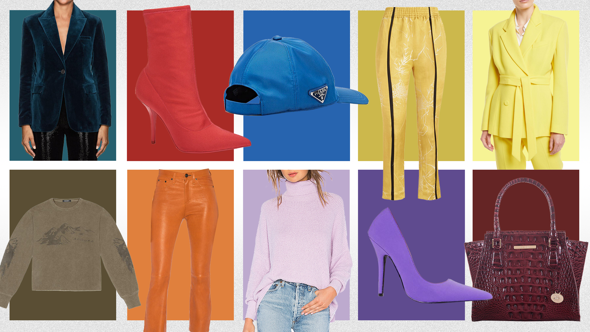 Must-Have Wardrobe Items in Each of Pantone's Fall/Winter 2018 Colors