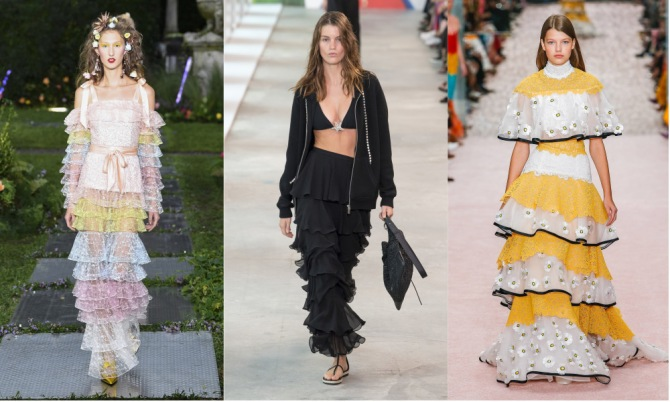 ruffles The Top 10 Trends from New York Fashion Week 2018
