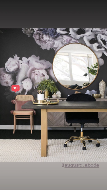 screen shot 2018 09 06 at 11 44 20 am Shay Mitchells Instagram Story Is Full of Stunning Home Office Inspiration
