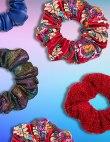 Stylish Scrunchies for Upgrading Your Basic Ponytail