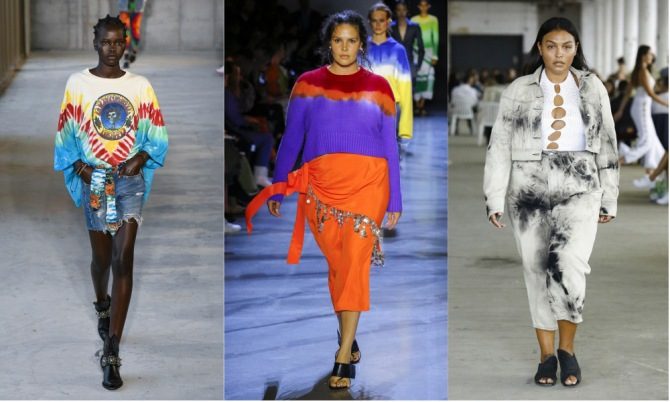 tie dye The Top 10 Trends from New York Fashion Week 2018