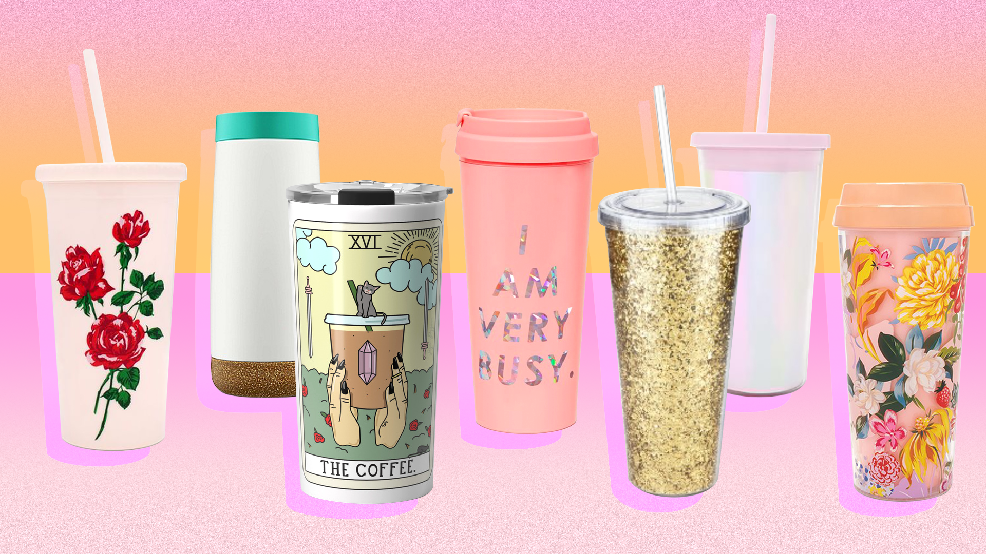 Travel Coffee Mugs So Cute You'll Want to Carry Them Everywhere